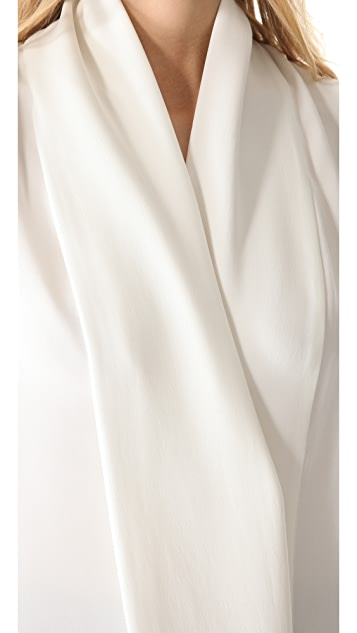 Derek Lam Draped Sleeveless Blouse