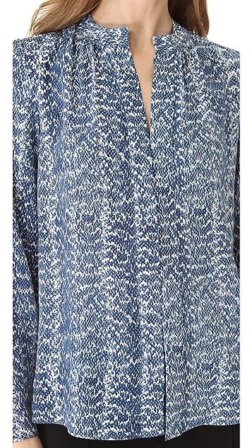 Derek Lam Classic Long Sleeve Blouse