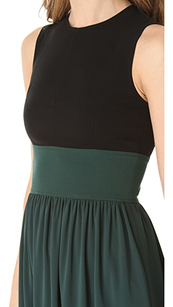 Derek Lam Two Tone Dress