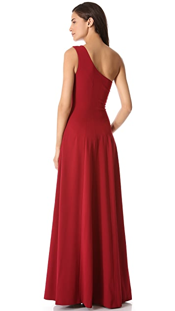 Derek Lam One Shoulder Gown