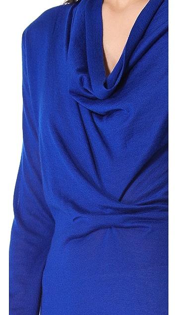 Derek Lam Ruched Sweater Dress