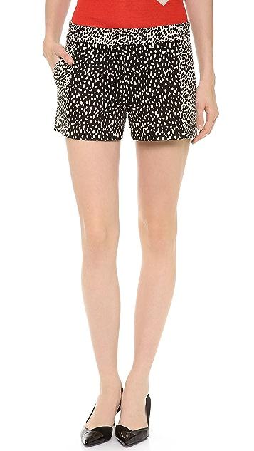 Derek Lam Zip Front Shorts
