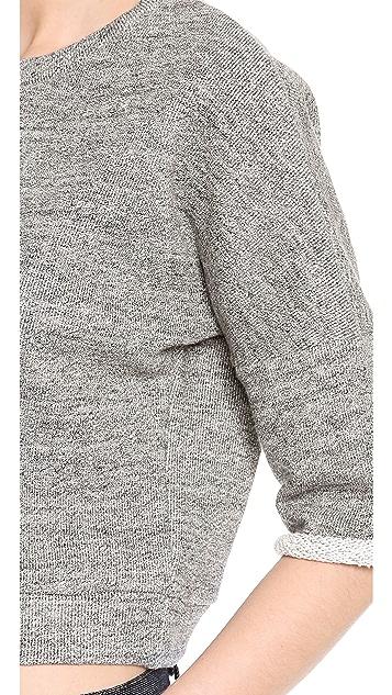 Derek Lam Cropped Pullover
