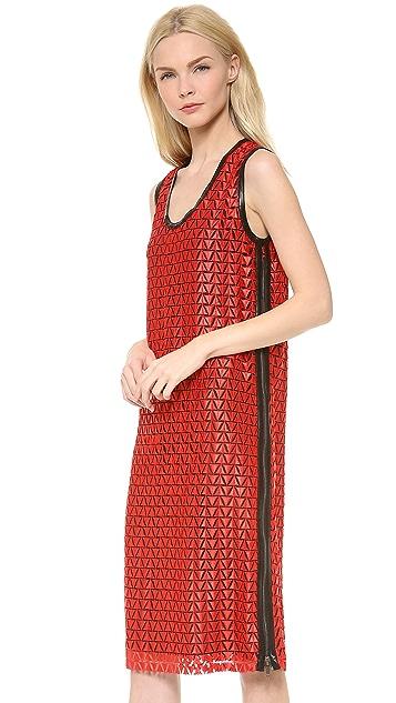 Derek Lam Scoop Neck Dress