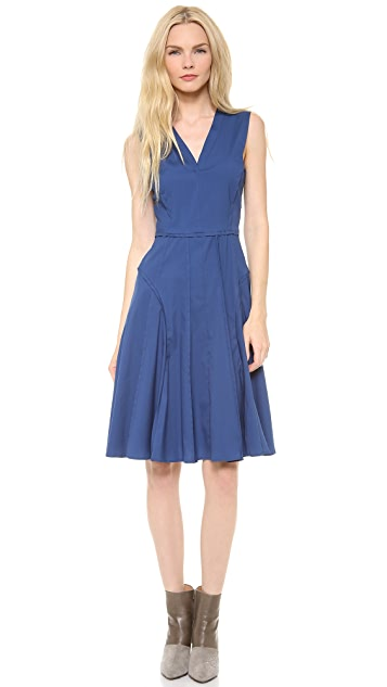 Derek Lam Sleeveless Dress with Full Skirt