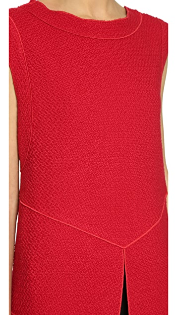 Derek Lam Tunic with Slit Front
