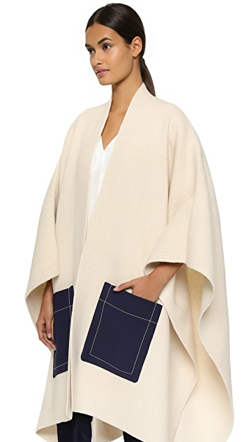 Derek Lam Cape with Combo Pockets