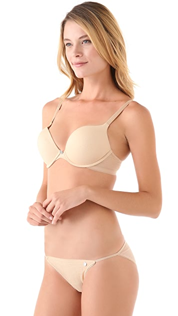 DKNY Intimates Super Glam Push Up Demi Bra