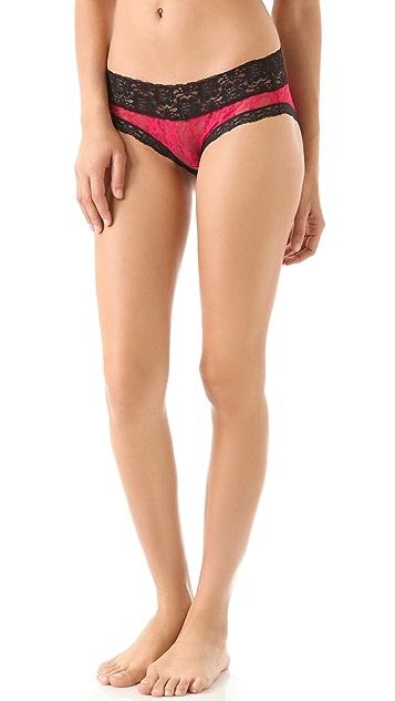 DKNY Intimates Signature Lace Table Bikini Briefs
