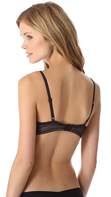 DKNY Intimates Fusion Lights Lace Push Up Bra
