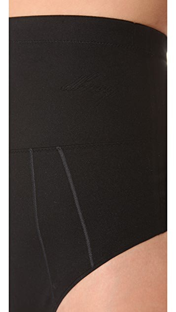 DKNY Intimates Fusion High Waisted Thong
