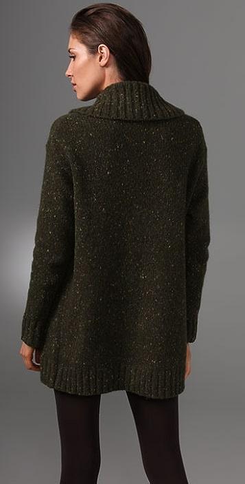 DKNY pure DKNY Shawl Collar Cardigan