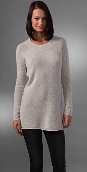 DKNY Crew Neck Pullover Sweater