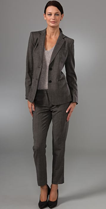 DKNY Two Button Blazer