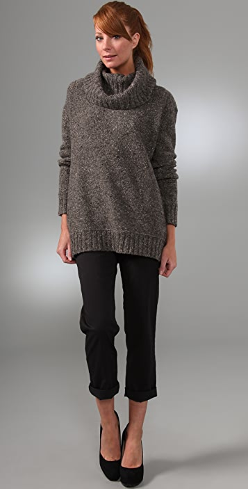 DKNY pure DKNY Funnel Neck Sweater