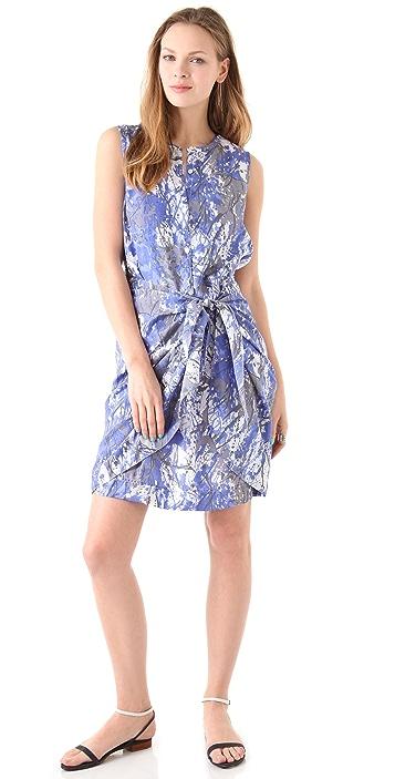 DKNY Pure DKNY Sarong Shirtdress