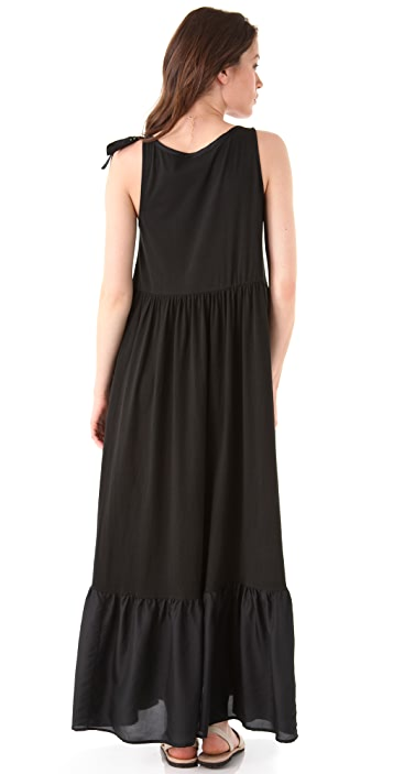 DKNY pure DKNY Tiered Maxi Dress