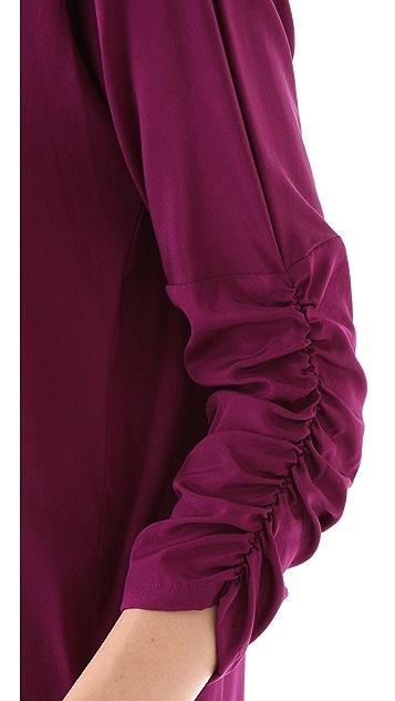 DKNY Dolman Sleeve Blouse