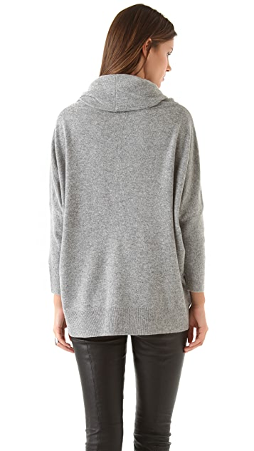 DKNY Cowl Neck Pullover
