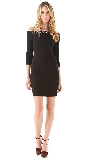 DKNY Off The Shoulder Dress