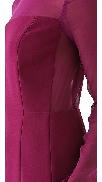 DKNY Peplum Hem Dress