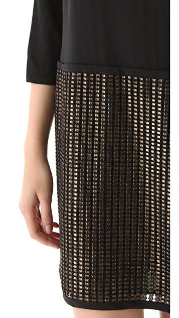 DKNY System Dress with Back Zip