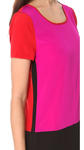 DKNY Colorblock Dress