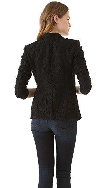 DKNY Peaked Lapel Jacket
