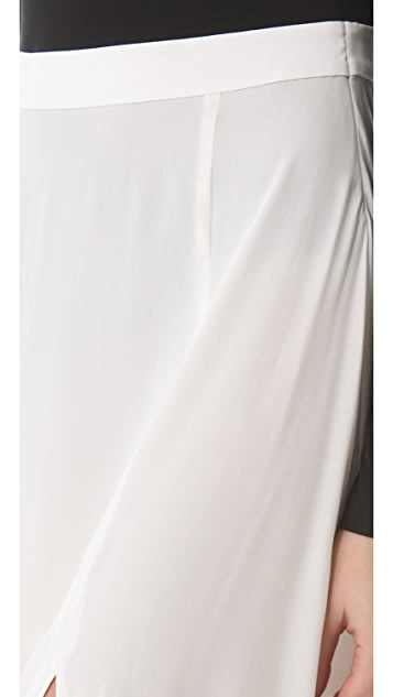 DKNY Maxi Dress with Bodysuit