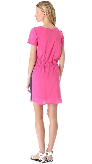 DKNY Drawstring Waist Dress