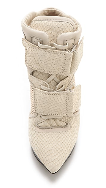 DKNY Pulse High Top Platform Booties