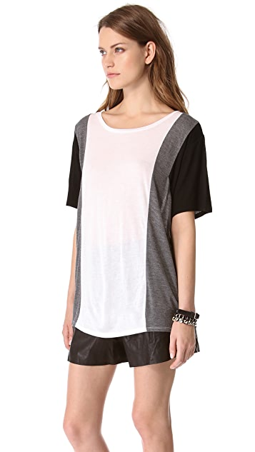 DKNY Colorblock Short Sleeve Tee