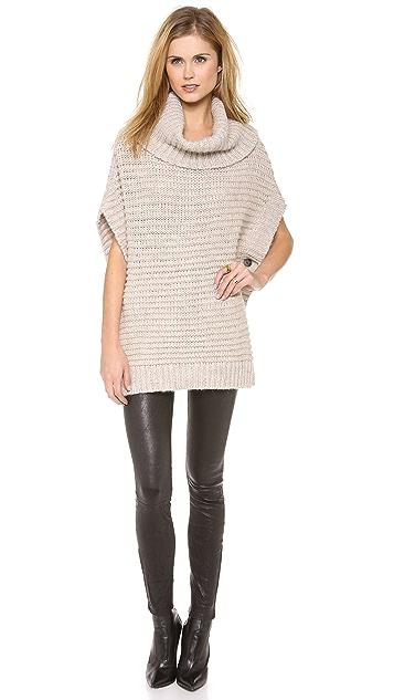 DKNY Pure DKNY Chunky Melange Sweater
