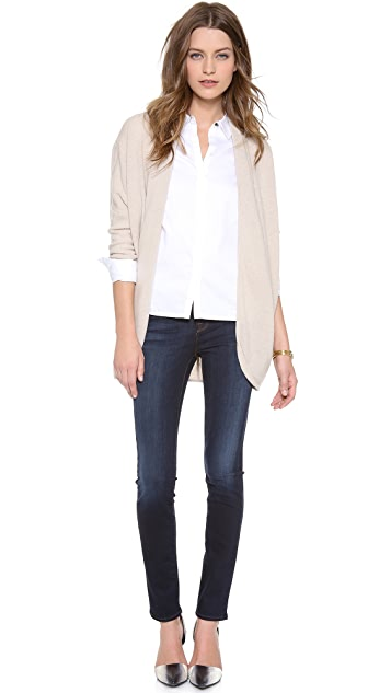 DKNY Pure DKNY Dolman Cardigan Sweater