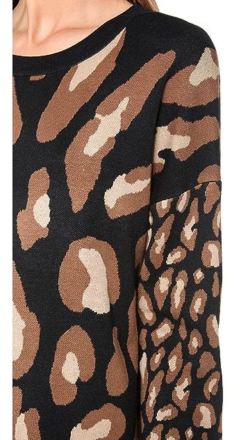 DKNY Double Knit Tunic Dress