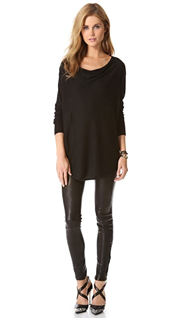 DKNY Cowl Neck Sweater