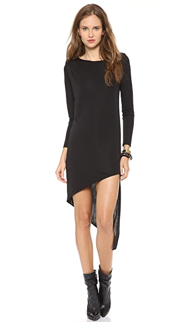 DKNY Draped Asymmetrical Tunic