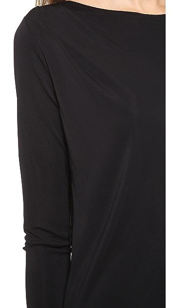 DKNY Draped Asymmetrical Tunic