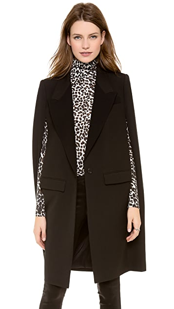 DKNY Long Sleeve Cape