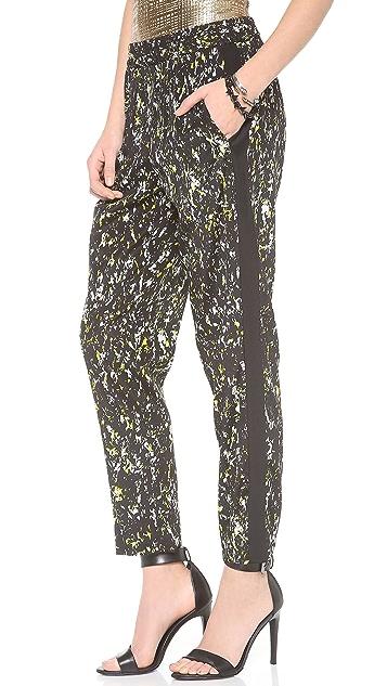 DKNY Print Drawstring Pants