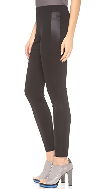 DKNY Tuxedo Stripe Leggings
