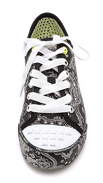 DKNY Barbara Studded Sneakers