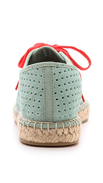 DKNY Ivana Lace Up Espadrilles