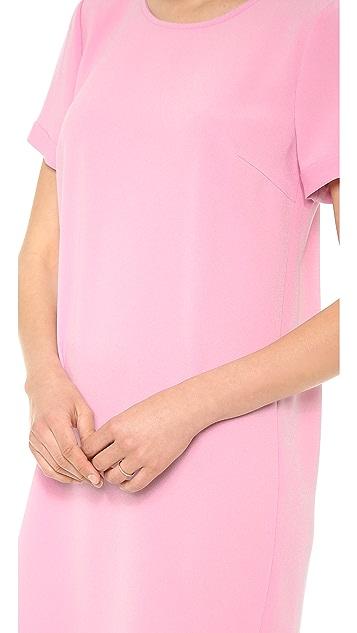 DKNY Short Sleeve T-Shirt Dress