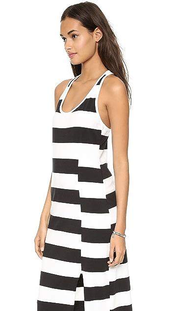 DKNY Racer Back Maxi Dress