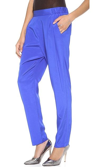 DKNY Pull On Pleated Pants