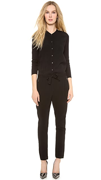 DKNY Pure DKNY Long Sleeve Jumpsuit