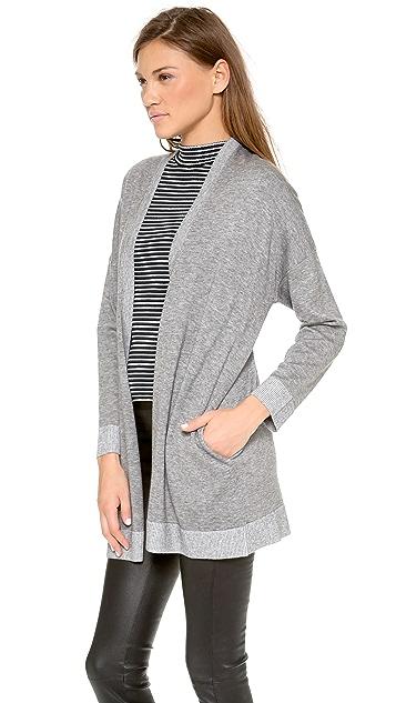 DKNY Pure DKNY Drop Shoulder Cardigan