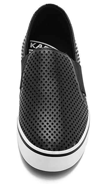 DKNY Barrow Perforated Sneakers