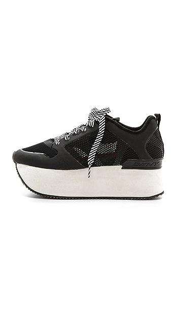 DKNY Jessica Platform Sneakers